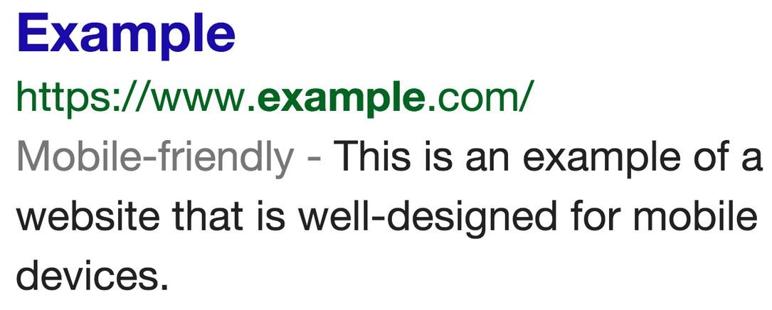 google webseiten f r mobile ansicht pr fen und kennzeichnen. Black Bedroom Furniture Sets. Home Design Ideas
