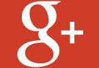 google plus logo rot