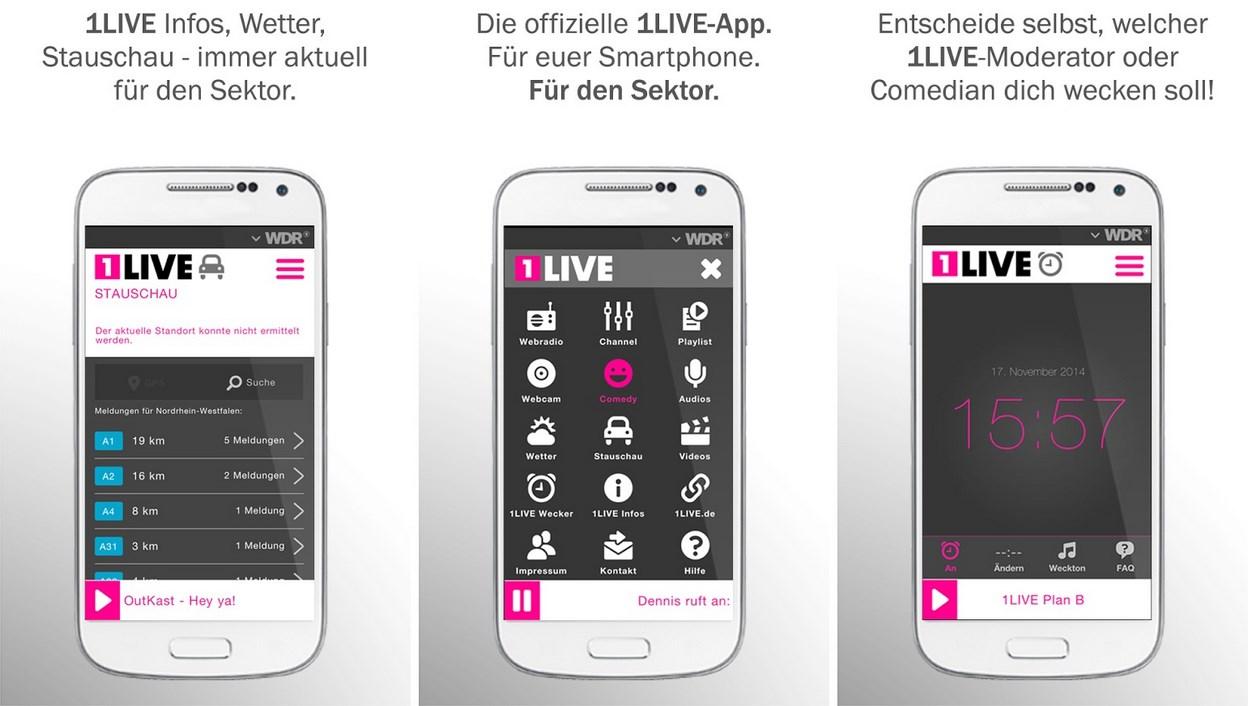 1live Mit Eigener Android App