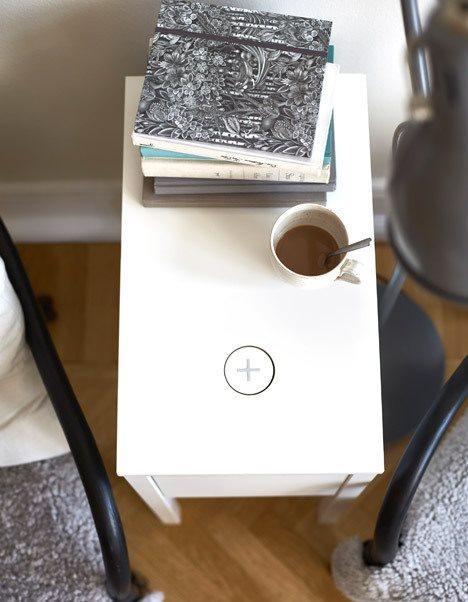ikea pr sentiert m bel mit modul f r drahtloses aufladen. Black Bedroom Furniture Sets. Home Design Ideas