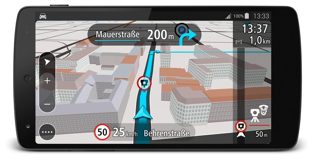 navigation tomtom go mobile f r android ver ffentlicht. Black Bedroom Furniture Sets. Home Design Ideas