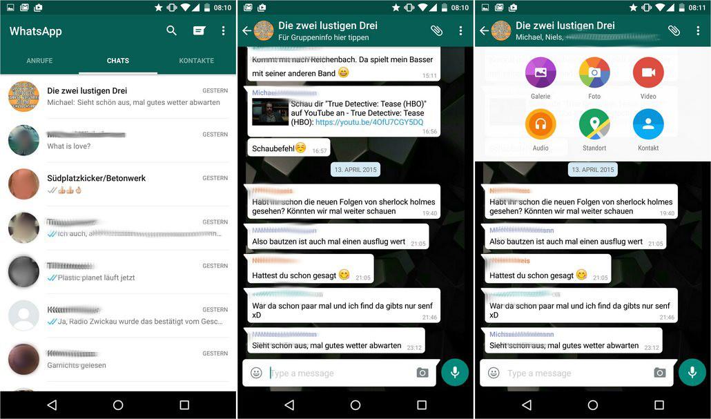 Whatsapp Im Neuen Design Jetzt Im Play Store Unsere