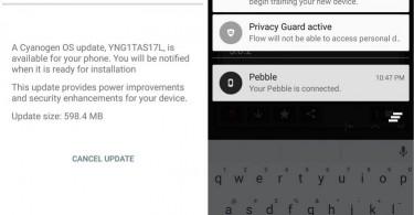 OnePlus One CM12s update YNG1TAS17L