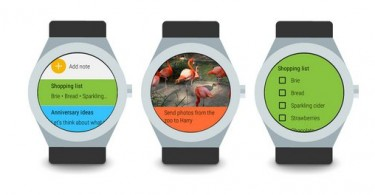 google keep android wear