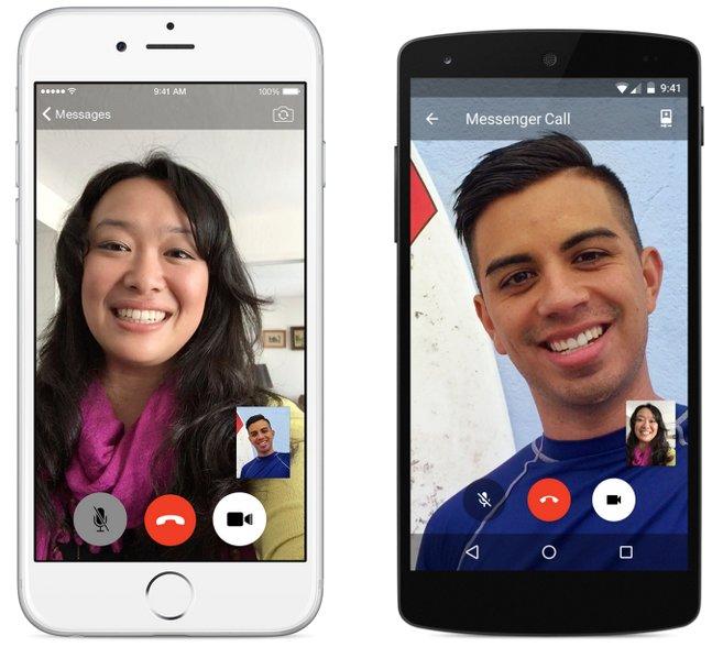 facebook messenger videotelefonie