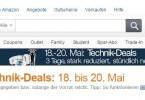 amazon technik-deals mai 2015