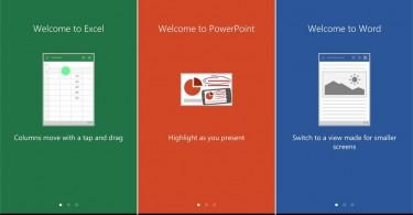 word excel powerpoint smartphone