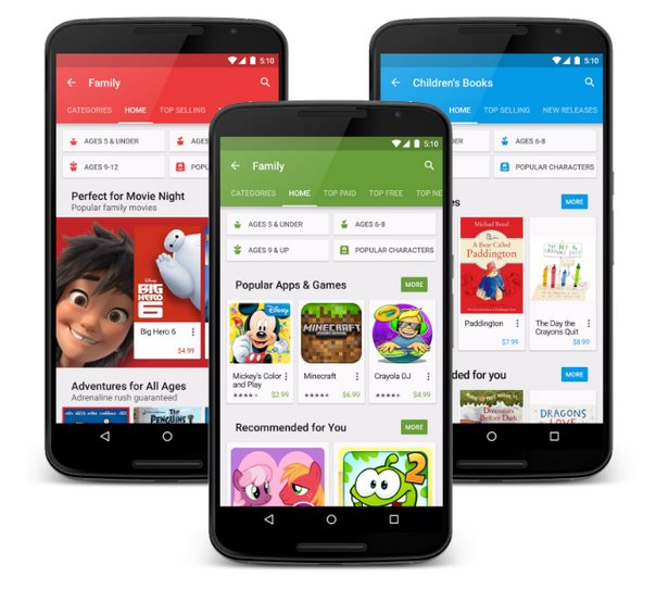 google play familien