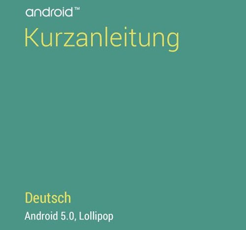 android 5 lollipop kurzanleitung