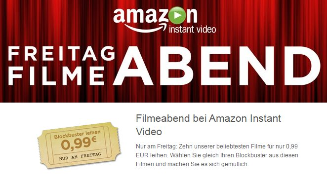nur heute 99 cent blockbuster bei amazon instant video. Black Bedroom Furniture Sets. Home Design Ideas
