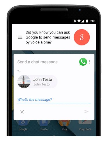 ok google whatsapp viber telegram