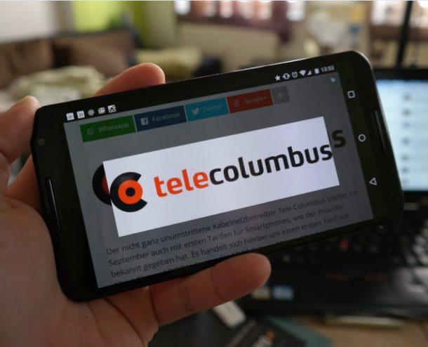 Tele Columbus Handy Header