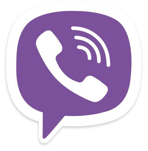 Viber Logo, kostenloser Messenger für Android