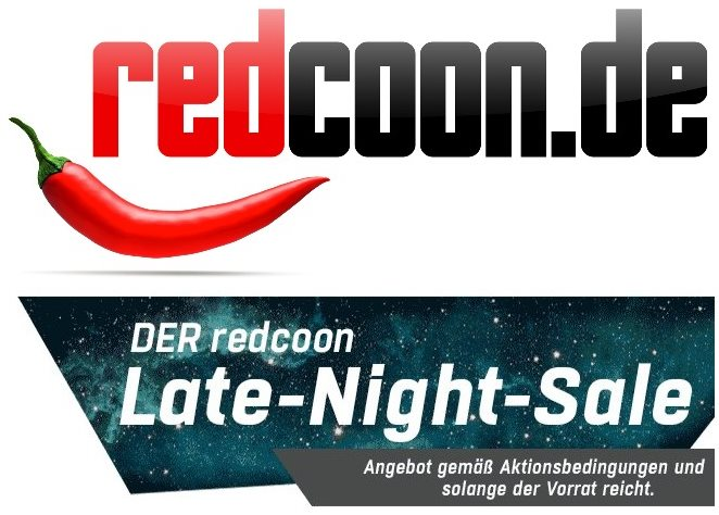 redcoon late night sale