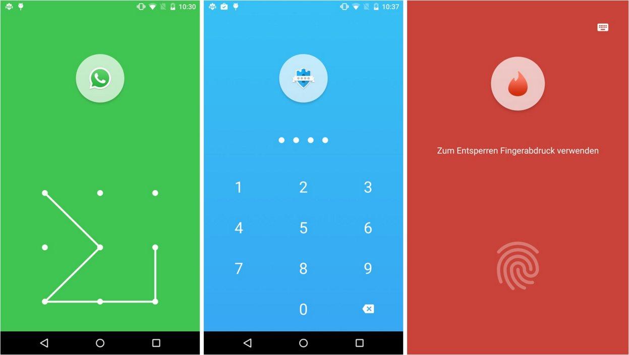 App Lock Screenshots