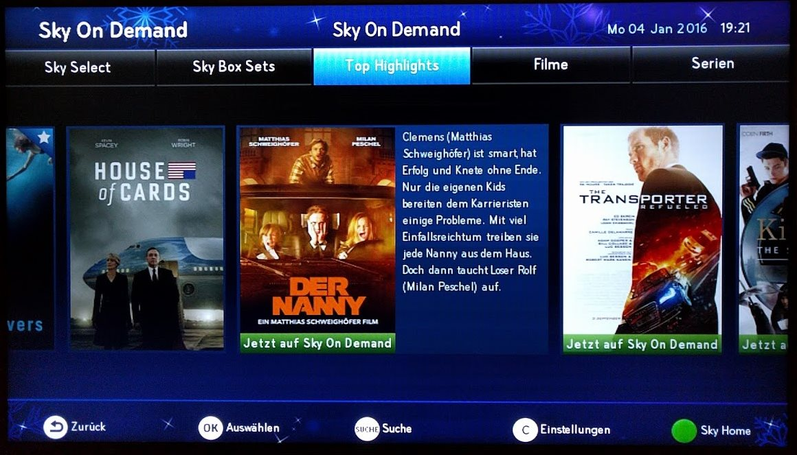 Sky On Demand Problem