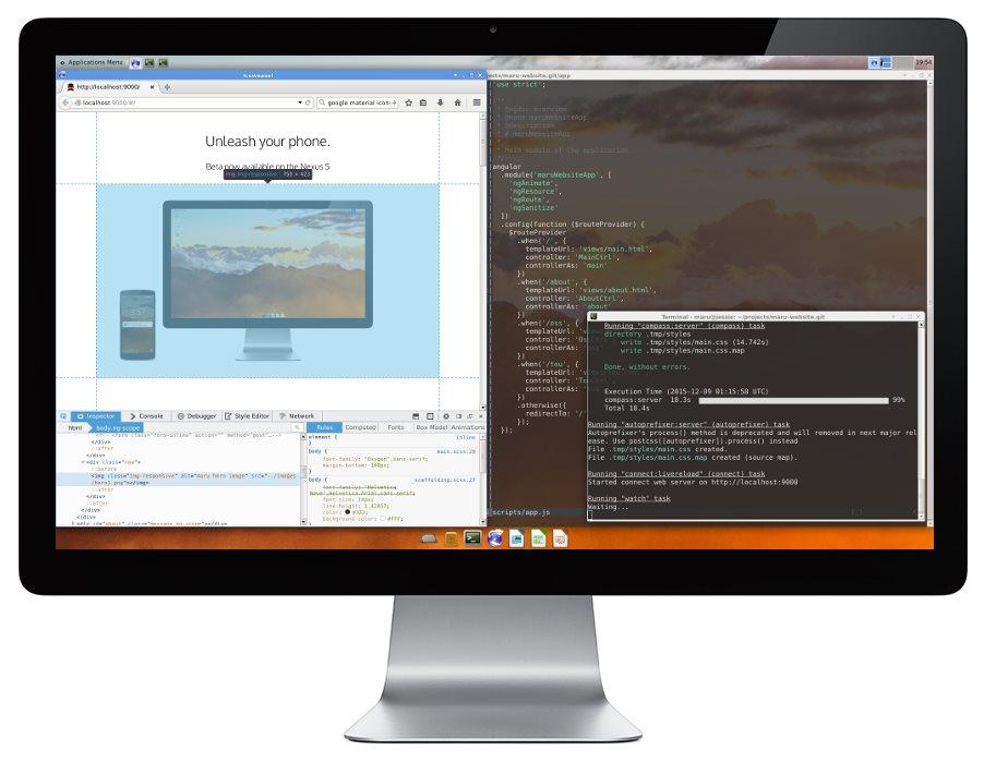 Maru macht Smartphone zum Desktop-PC