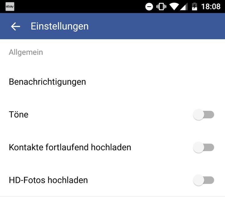 Facebook-App hochladen