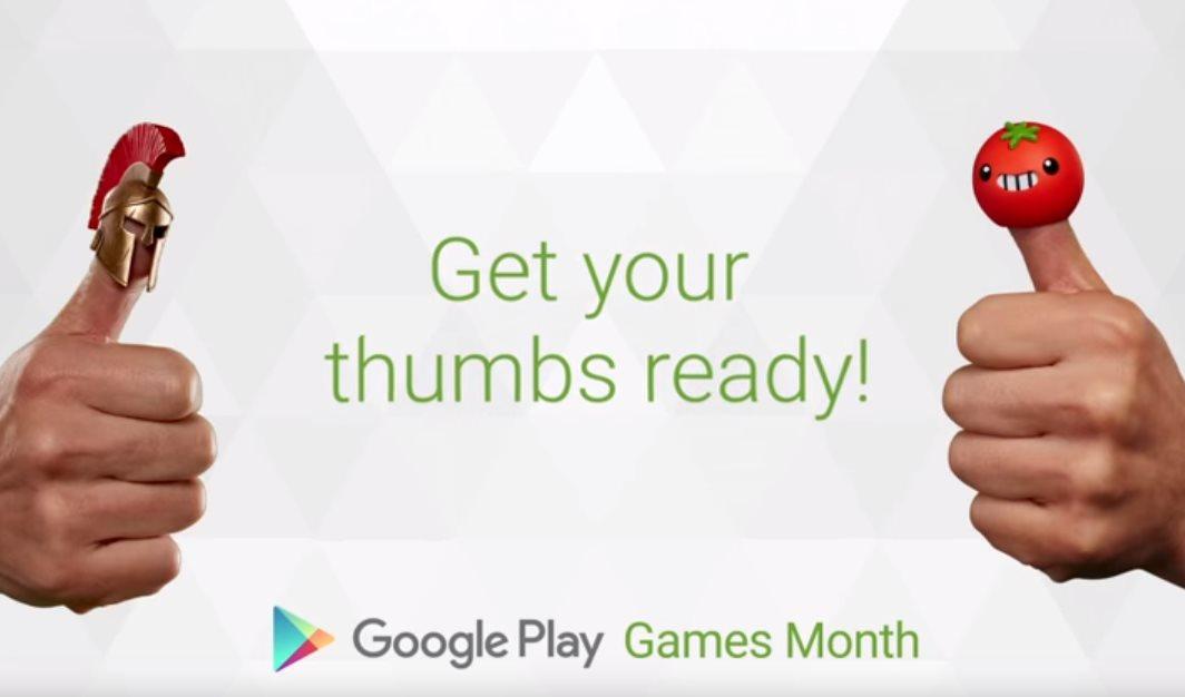 Google Play Games Monat