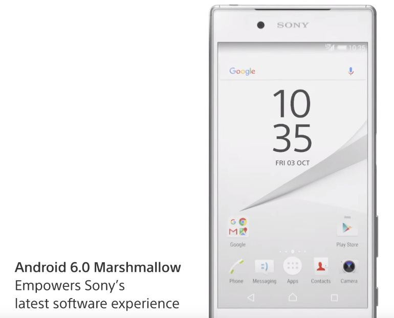 Sony Xperia Android 6
