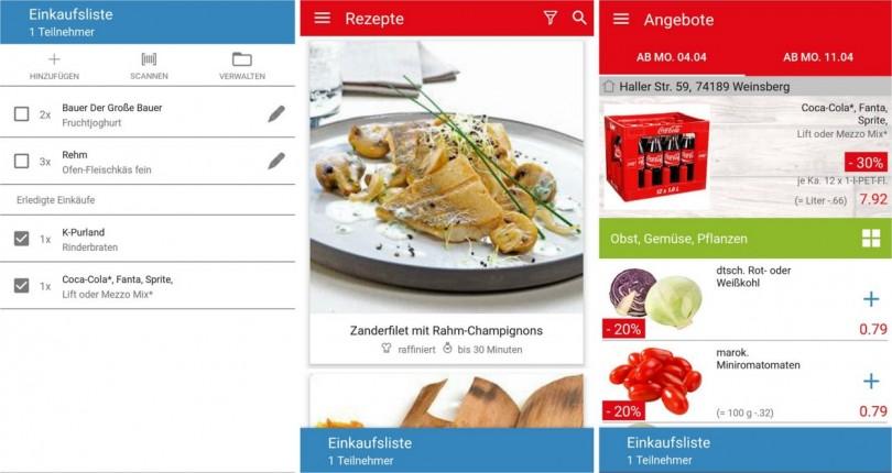 Kaufland Android app