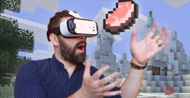 Minecraft Gear VR