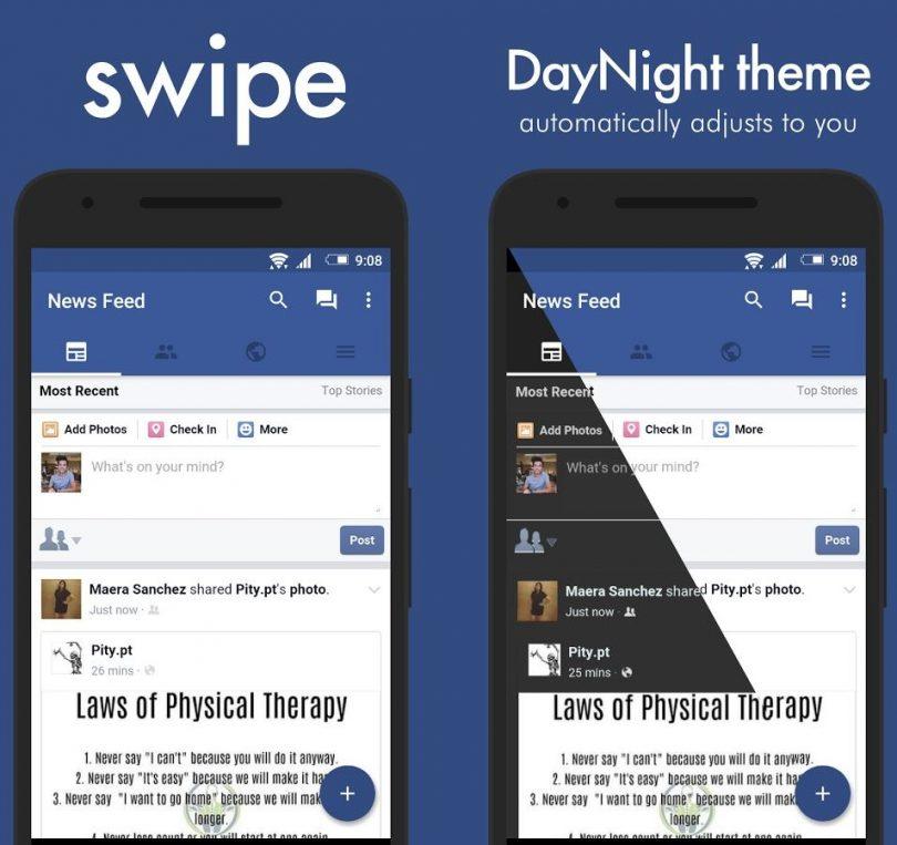 Swipe for Facebook App