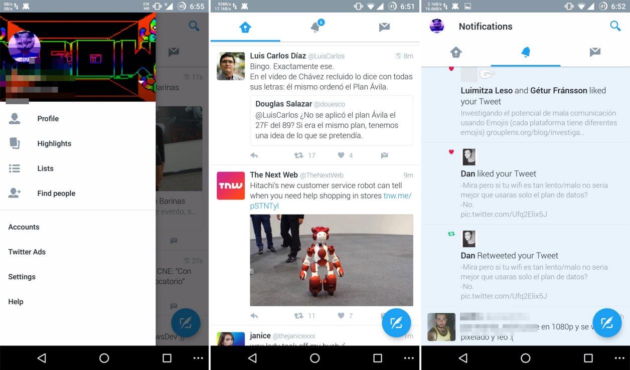 Twitter Material Design Leak