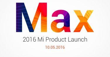 Xiaomi Mi Max Event