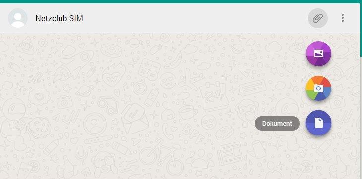 WhatsApp Web Dokumente