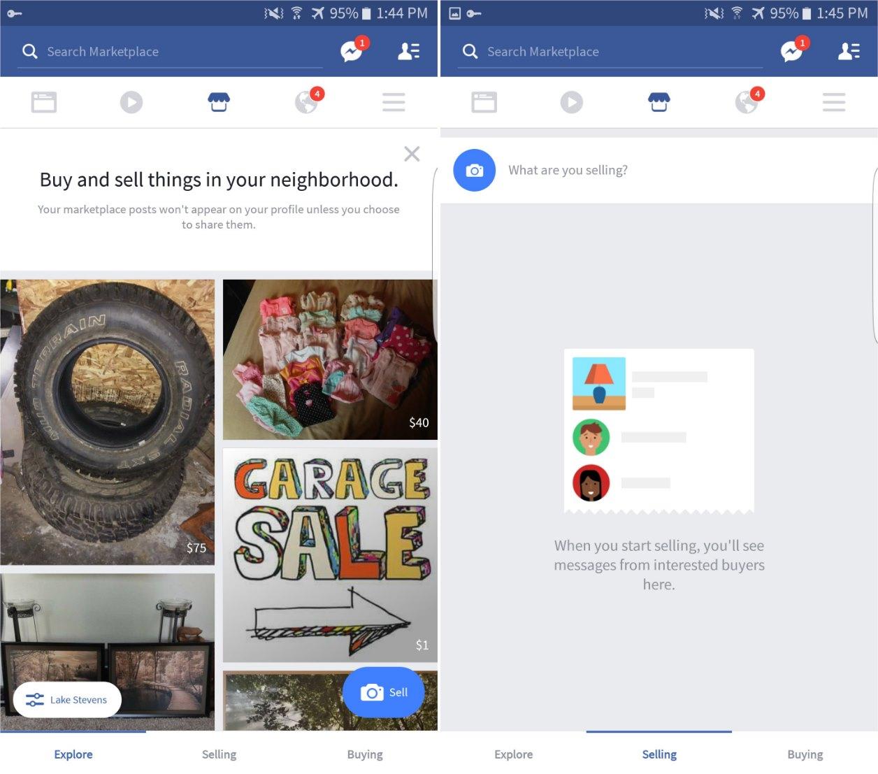 facebook app soll etwas wie ebay kleinanzeigen erhalten. Black Bedroom Furniture Sets. Home Design Ideas