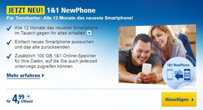 1&1 NewPhone