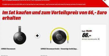 Chromecast Aktion Mai 2016 Media Markt