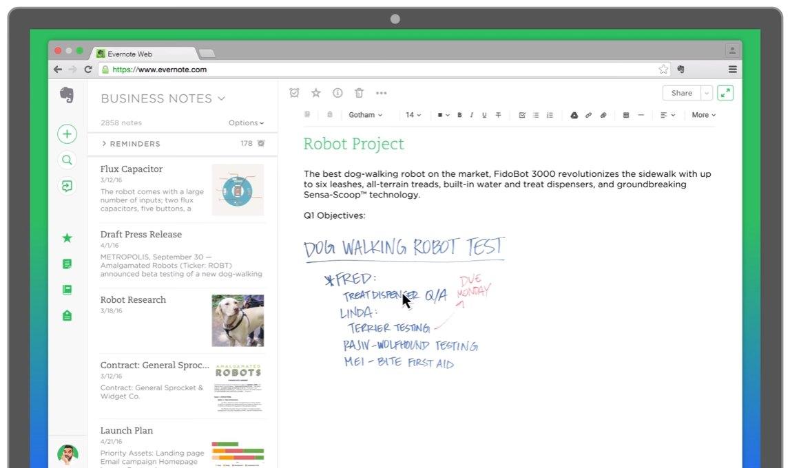 Evernote bekommt bessere Google Drive-Unterstützung