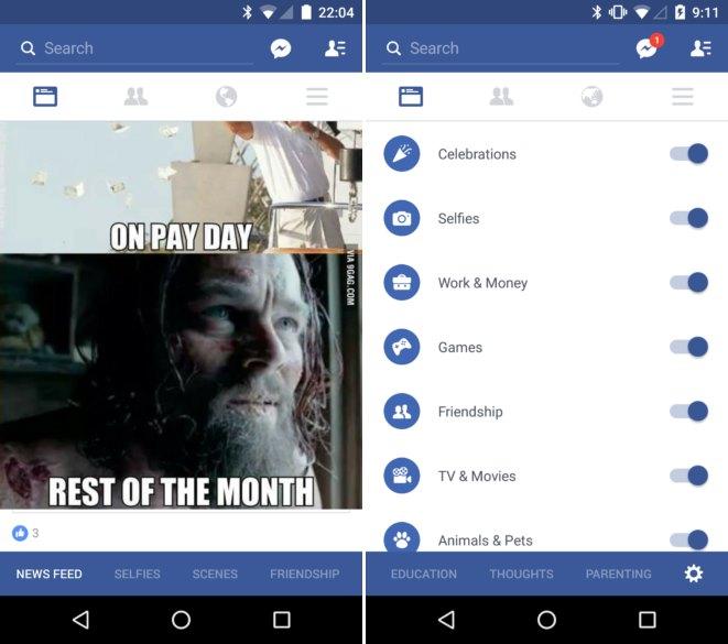 Facebook App Neuerungen Mai 2016 (2)