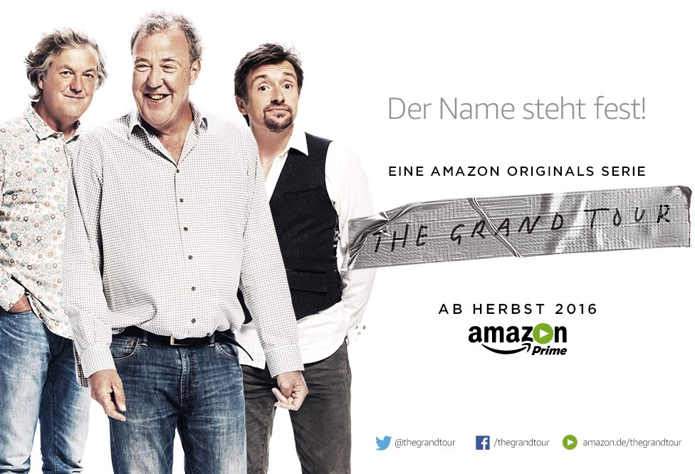 the grand tour amazon verk ndet starttermin f r das projekt der top gear jungs. Black Bedroom Furniture Sets. Home Design Ideas