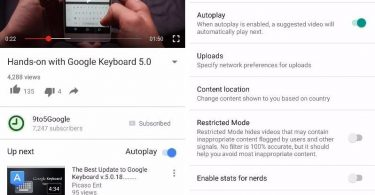 youtube android autoplay