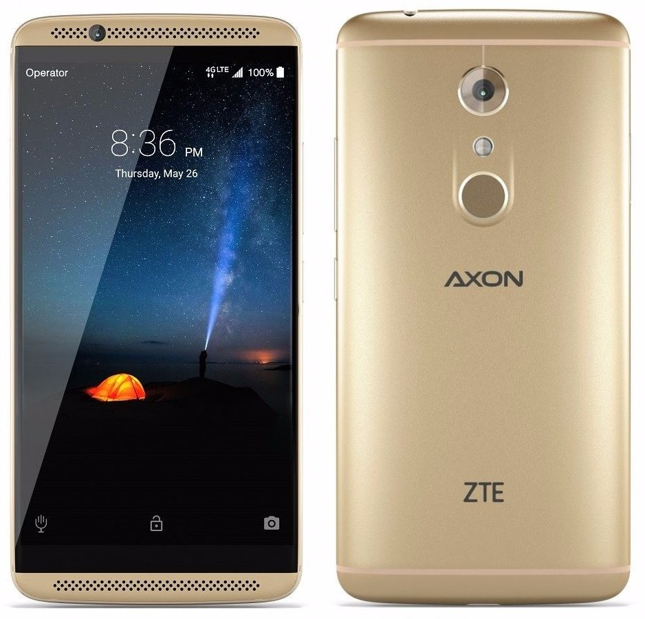 seems zte axon 7 4k video only drop
