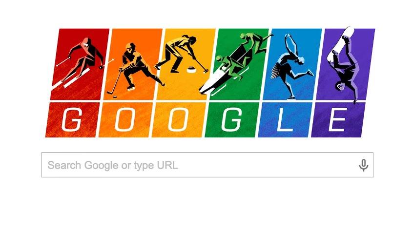 Google Doodle Beispiel