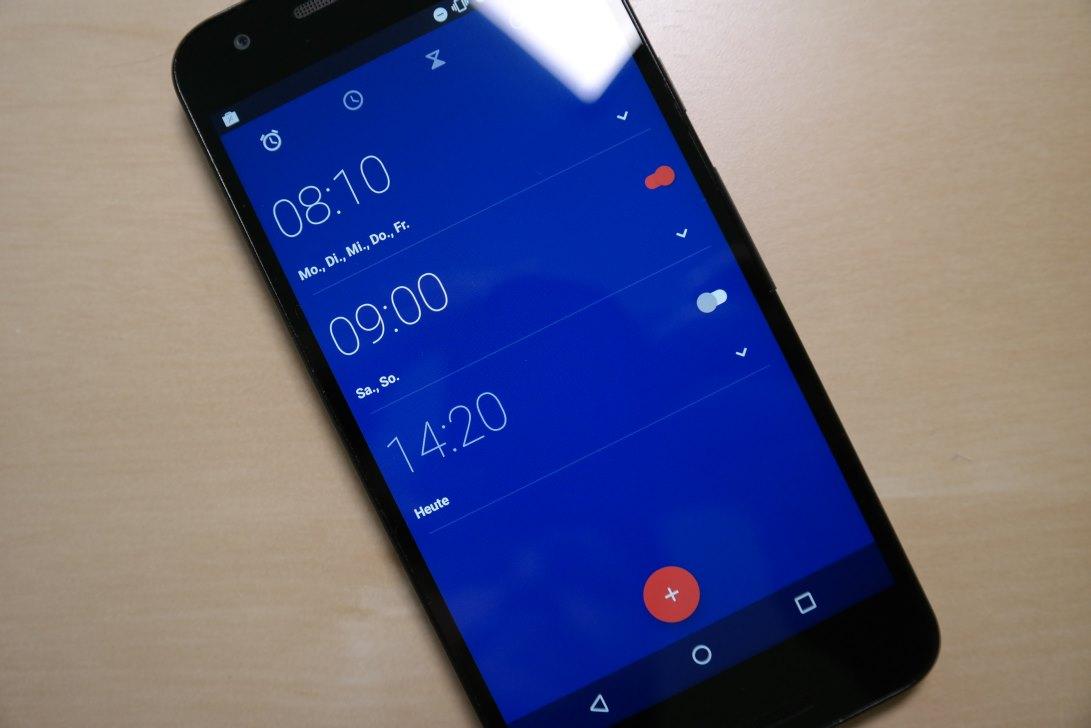 Google Uhr / Wecker App Android