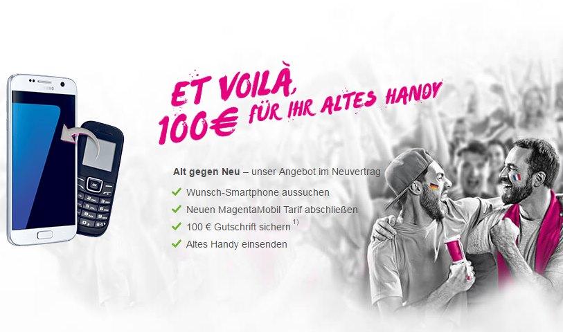 alt gegen neu telekom bietet 100 euro gutschrift f r euer. Black Bedroom Furniture Sets. Home Design Ideas
