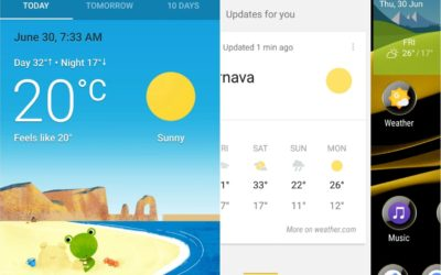 Xperia Home Google Now Beta