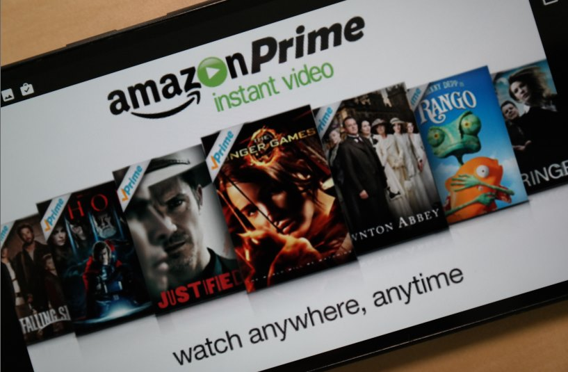 Amazon Prime Instant Video Header