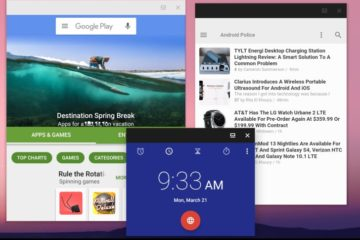 Android N Multi Window Free Form