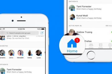Facebook Messenger Home