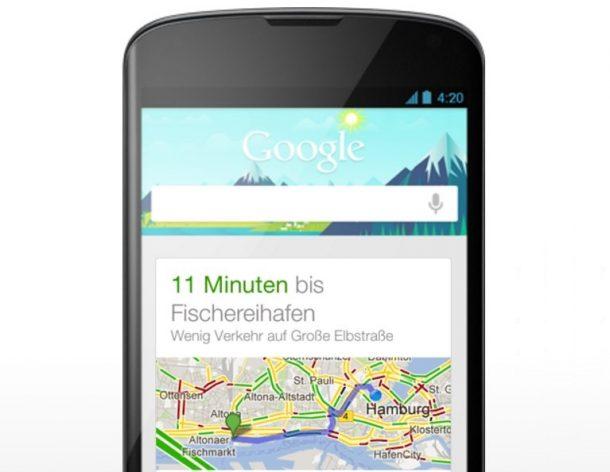 Google Now Header