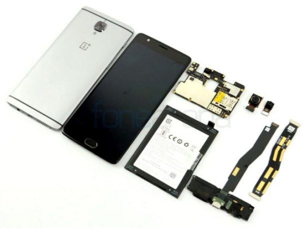 OnePlus 3 Teardown FoneArena