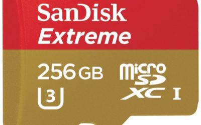 SanDisk Extreme 256 GB