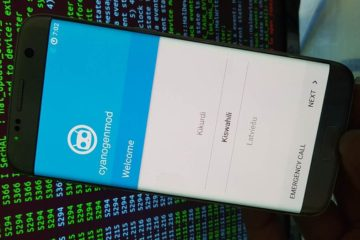 CyanogenMod 13 Boot Galaxy S7 edge