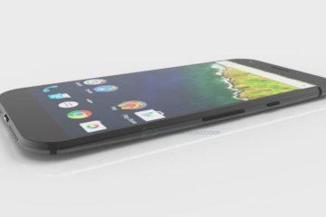HTC Nexus 2016 3D Modell